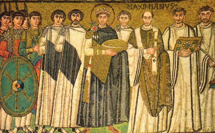 Император Юстиниан и Византия
