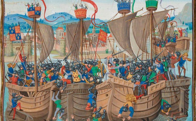 Первая морская битва 100 летней войны