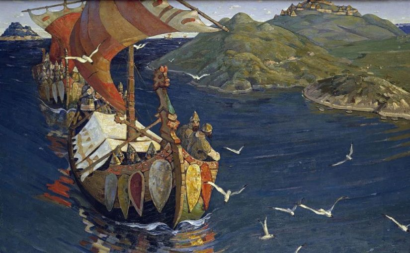 Викинги против монахов